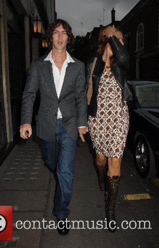 Richard Ashcroft,  at the Ivy restaurant London,...