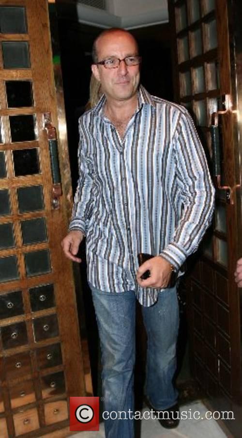 Paul McKenna leaving the Ivy restaurant  London,...
