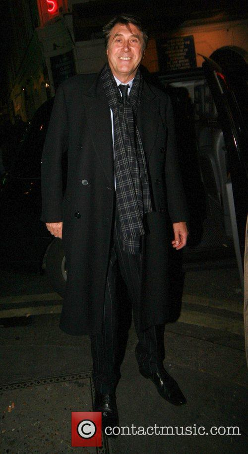 Bryan Ferry outside The Ivy London, England