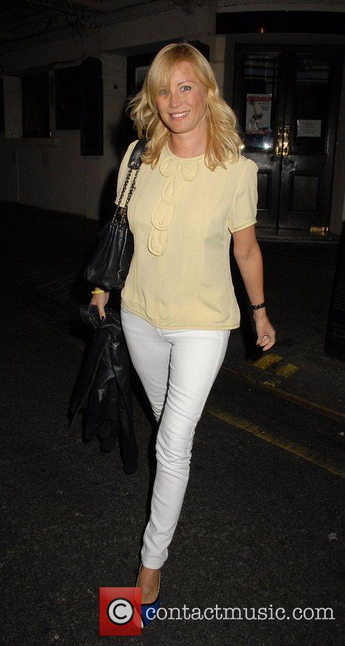Denise Van Outen at the Ivy London, England
