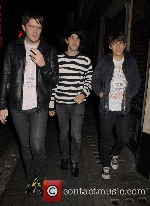Mercury Prize winners, The Klaxons at the Ivy...
