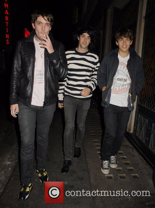 Mercury Prize winners, The Klaxons at the Ivy