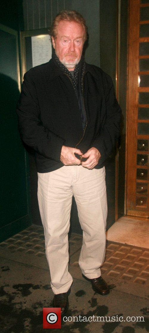 Ridley Scott at the Ivy