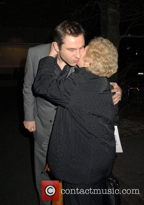 David Walliams and Mother 6