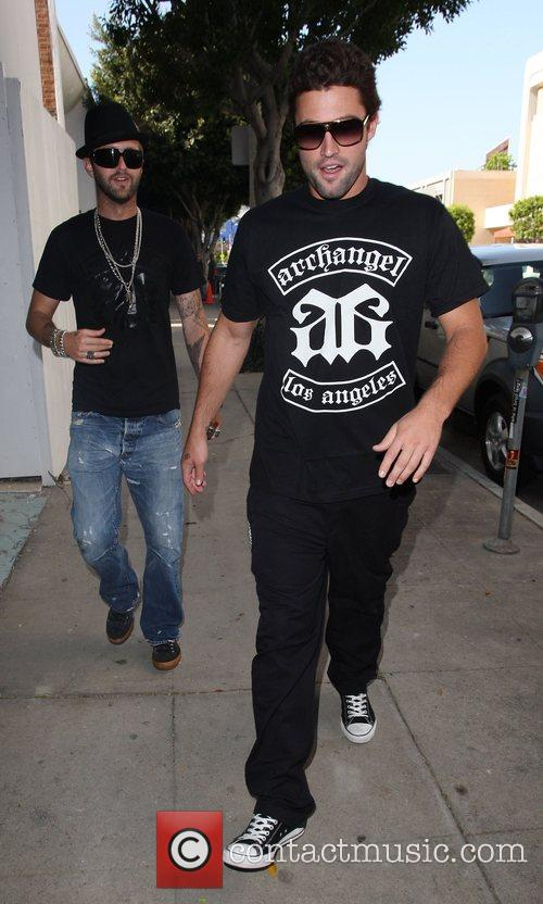 Brody Jenner goes to the Ivy restaurant for...