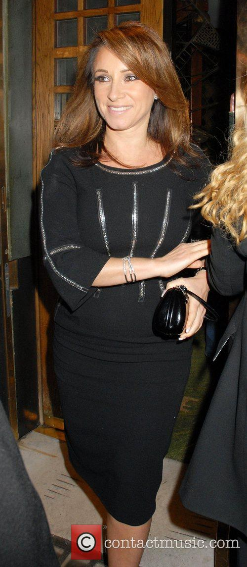 Jacqueline Gold leaving the Ivy restaurant  London,...
