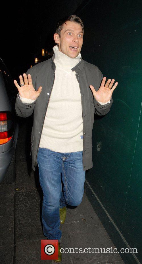 John Partridge leaving the Ivy restaurant  London,...