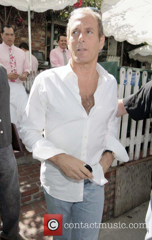 Michael Bolton leaving the Ivy restaurant  Los...