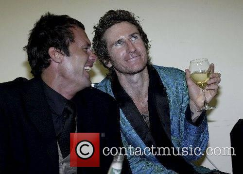 Tom Williams and Tim Rogers of You Am...