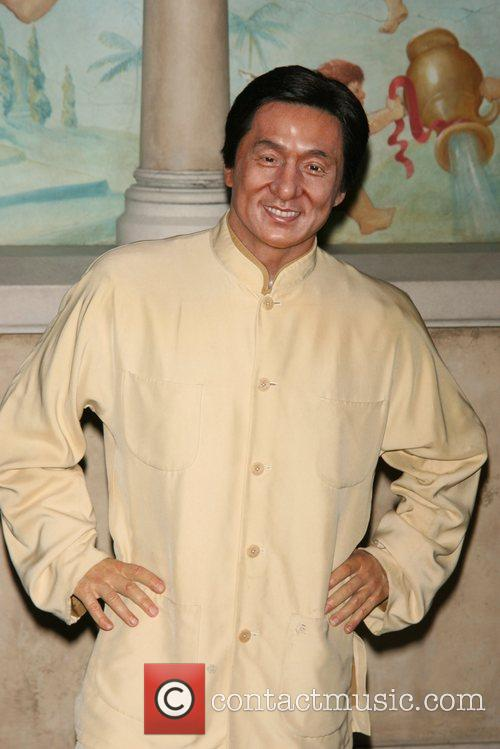 Jackie Chan wax figure is unveiled at Madame...