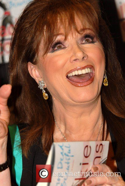 Jackie Collins promoting her new book 'Drop Dead...