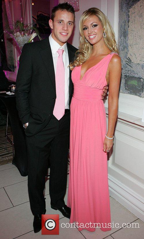 Former Miss World, Rosanna Davison and boyfriend Wesley...