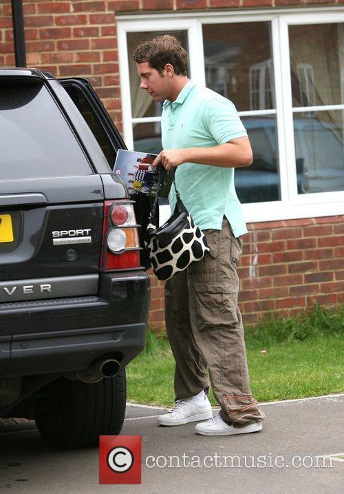 Jade Goody's new child minder and personal driver...