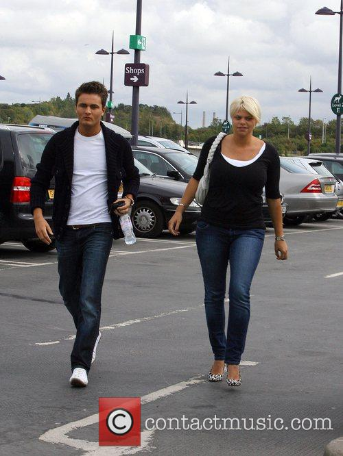 Jade Goody and David Wickenden 4