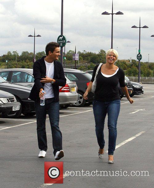 Jade Goody and David Wickenden 9