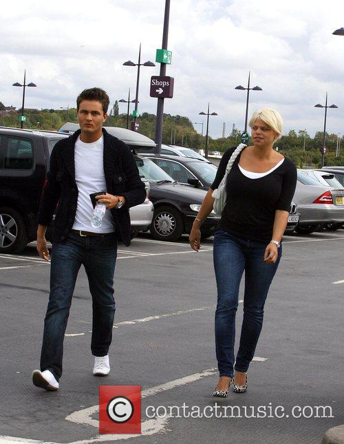 Jade Goody and David Wickenden 2