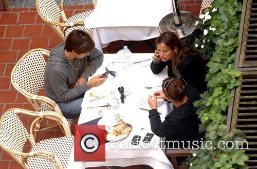 Dinning at restaurant Borchardt before leaving for Tegel...
