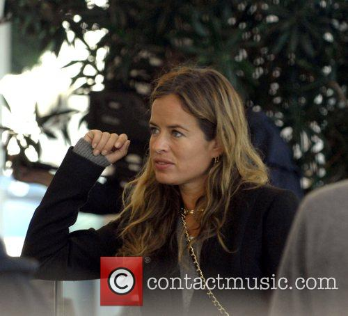 Jade Jagger does a bit of shopping before...