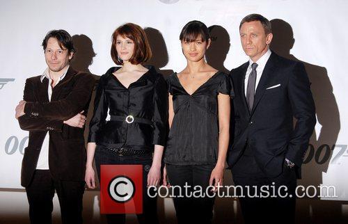 Daniel Craig, Gemma Arterton, Olga Kurylenko and Mathieu Amalric 4