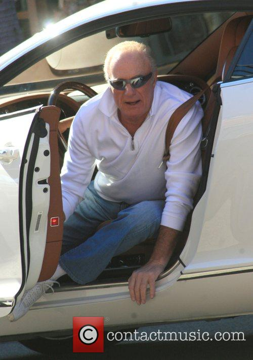 James Caan arriving at a medical building. Beverly...