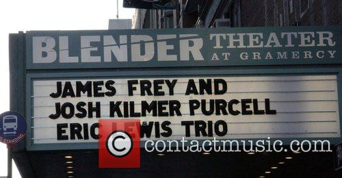 Blender Theater controversial author James Frey promotes his...