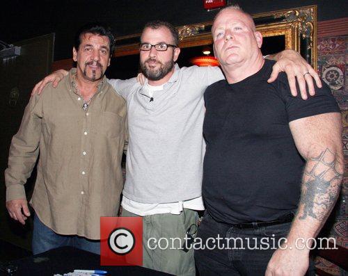 Chuck Zito and James Frey