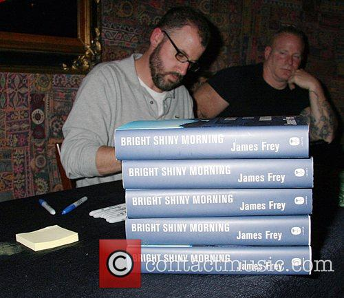 James Frey and Bodyguard 1