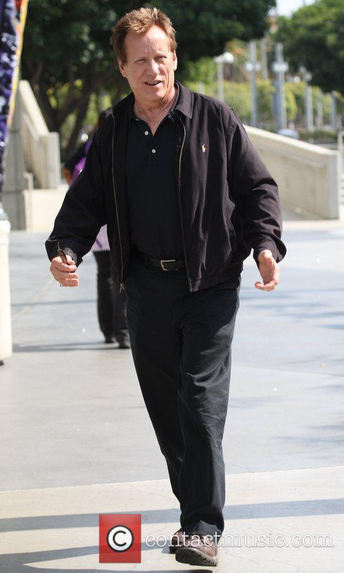 James Woods leaving the Staples Center after a...