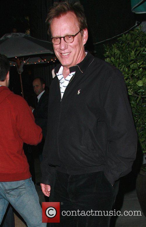 James Woods leaving Dan Tana's restaurant Los Angeles,...