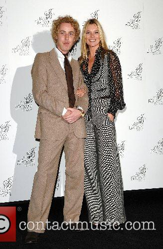 James Brown and Kate Moss Launch of James...