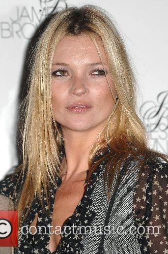 Kate Moss Launch of James Brown London haircare...
