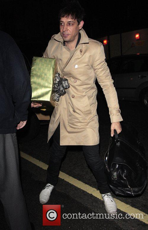 Jamie Hince  arriving at The Dorchester with...