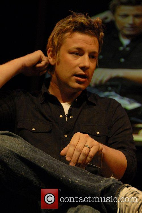 Jamie Oliver at the Guardian Hay Festival 2008