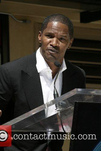 Jamie Foxx is honored with the 2,347th Star...
