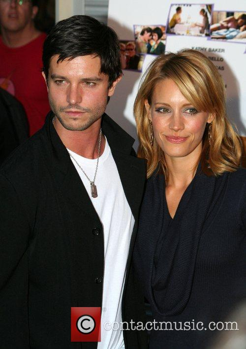 Jason Behr and KaDee Strickland Los Angeles film...