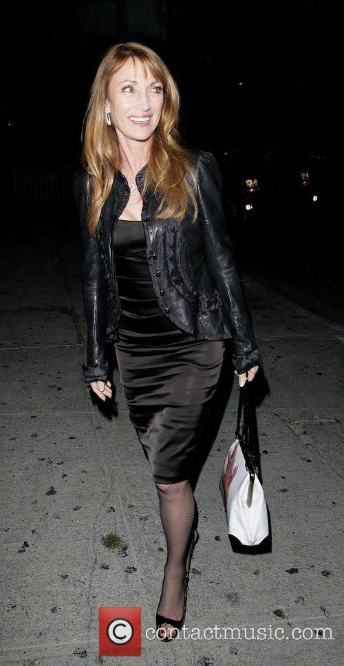 Jane Seymour leaving Koi Restaurant Los Angeles, California
