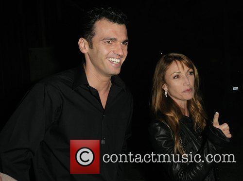 Jane Seymour and her dancing partner Tony Dovolani leaving Koi Restaurant 7