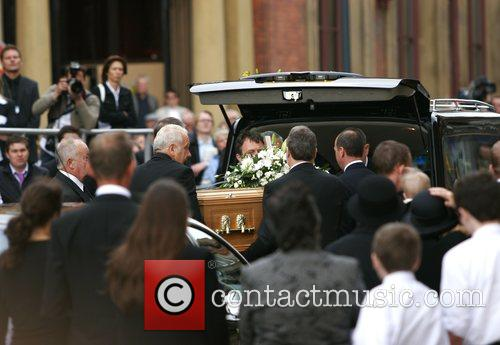 Attending the funeral of Jane Tomlinson at St...