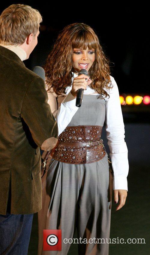 Sam Champion and Janet Jackson 2