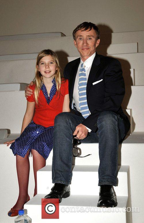 Jasper Conran and daughter London Fashion Week Autumn/Winter...