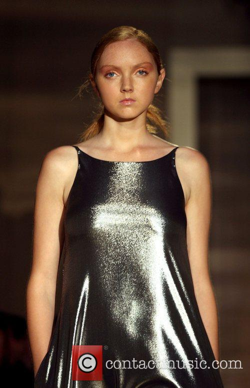 Lily Cole London Fashion Week Spring/Summer 2008 -...