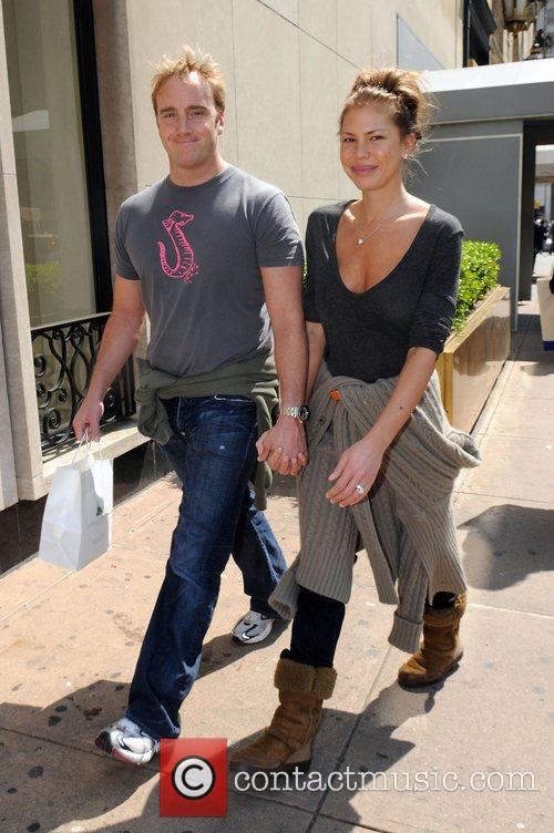 Jay Mohr and Nikki Cox out and about...