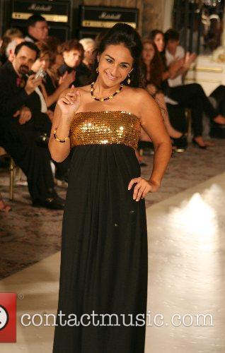 Jazmin Whitley Mercedes-Benz Fashion Week New York Spring...