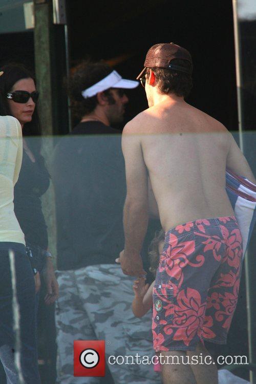 Sacha Baron Cohen, Malibu Beach