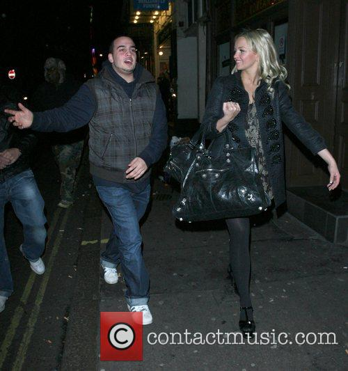Jennifer Ellison is followed by some drunks, while...
