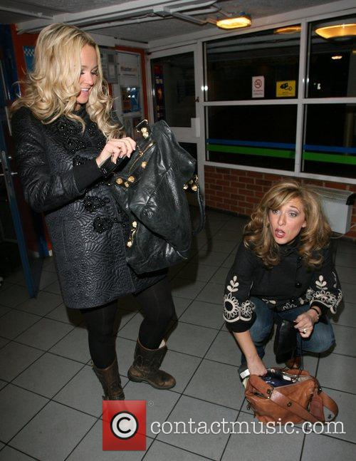 Jennifer Ellison and Tracey Ann-Oberman buy a parking...