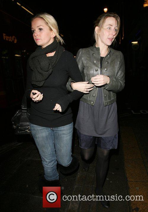 Jennifer Ellison left her local quickly after performing...