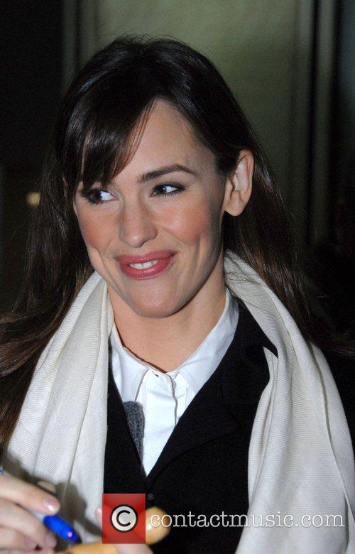 Jennifer Garner leaving the Fox Television Studios after...