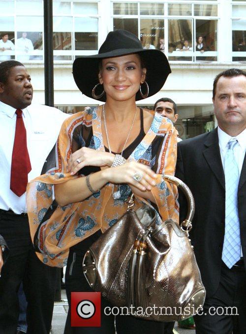 Jennifer Lopez arrives at BBC Radio One studios...