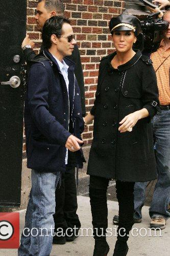 Marc Anthony and David Letterman 4